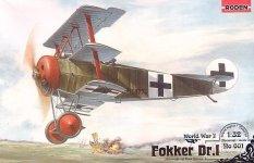 Roden 601 Fokker DR.I (1:32)