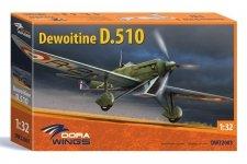 Dora Wings 32003 Dewoitine D.510 1/32