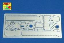 Aber 35160 Blotniki do SD.Kfz. 250 252 253 Alte - wczesny (DRA) (1:35)