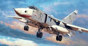 Trumpeter 01672 Su-24MR Fencer-E