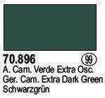 Vallejo 70896 Ger. Cam. Extra Dark Green (99)
