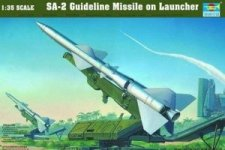 Trumpeter 00206 Guideline Missile on Launcher (1:35)