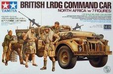 Tamiya 32407 British LRDG Command Car North Africa (w/7 Figures) (1:35)