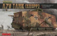 Meng Model TS-017 GERMAN A7V TANK (KRUPP) (1:35)