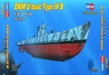 Hobby Boss 87006 DKM U-boat Type IXB 1/700