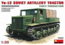 Miniart 35052 Soviet Artillery Tractor Ya-12 Early Production (1:35)