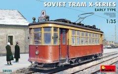 MiniArt 38020 SOVIET TRAM X-SERIES. EARLY TYPE 1/35