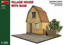 MiniArt 36031 VILLAGE HOUSE w/BASE (1:35)