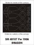 Montex SM48107 Fw-190A DRAGON