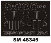 Montex SM48345 Beechcraft GB-2 RODEN