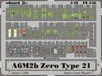Eduard FE358 A6M2b Zero type 21 1/48 Hasegawa
