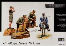 Master Box 3559 German Africa Corps (4 figures) (1:35)