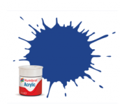Humbrol AB0025 25 Blue Matt Acrylic Paint 14ml