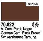 Vallejo 70822 German Cam.Black Brown (150)
