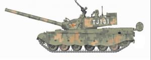 Border Model BD0021 99A MBT Digital Camouflage 1/35