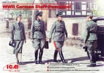 ICM 35611 WWII German Staff Personnel (1:35)