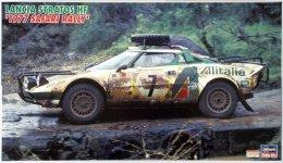 Hasegawa CR36 Lancia Stratos HF 1977 Safari Rally (1:24)
