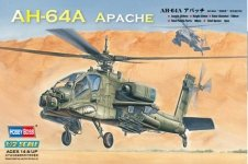 Hobby Boss 87218 AH-64A Apache Attack Helicopter (1:72)