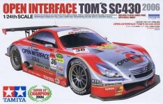 Tamiya 24293 Open Interface Tom's SC430 2006 (1:24)