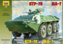 Zvezda 3587 BTR-70 with MA-7 Turret (1:35)
