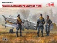 ICM 32101 German Luftwaffe Pilots (1939-1945) (3 figures) 1/32