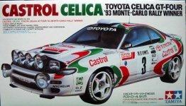 Tamiya 24125 Castrol Celica ('93 Monte-Carlo Winner) (1:24)