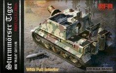 Rye Field Model 5012 Sturmmorser Tiger (full interior) 1/35