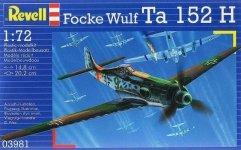 Revell 03981 Focke Wulf Ta152H (1:72)