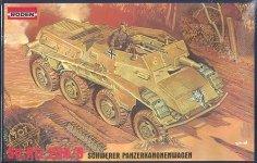 Roden 707 Sd.Kfz.234/3 Puma (1:72)