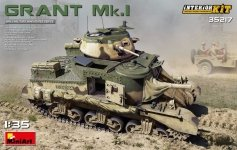 MiniArt 35217 Grant Mk.I w/interior 1/35