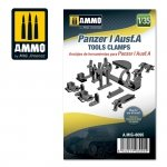 Ammo of Mig 8095 Panzer I Ausf.A Tools Clamps 1/35