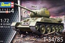 Revell 03302 T-34/85 1/72