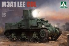 Takom 2115 M3A1 Lee CDL 1/35