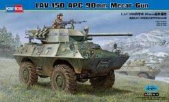 Hobby Boss 82421 LAV-150 APC w/ 90mm Mecar Gun (1:35)