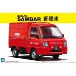 Aoshima 00741 Subaru Sambar Post Car 1:24