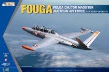 Kinetic K48059 Fouga CM.170R Magister 1/48