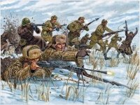 Italeri 6069 Russian Infantry 1/72