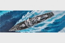 Trumpeter 04525 USS Hopper DDG-70 (1:350)