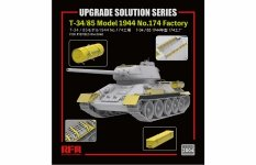 Rye Field Model 2004 Upgrade Solution Series for T-34/85 1/35