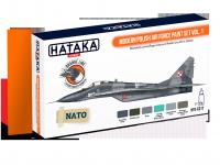 Hataka HTK-CS17 ORANGE LINE – Modern Polish Air Force paint set vol. 1 6x17ml