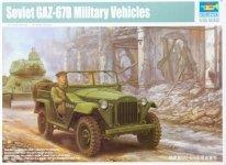 Trumpeter 02346 Soviet GAZ-67B Military Vehicles (1:35)