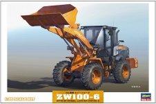 Hasegawa WM04 Hitachi Construction Machinery Wheel Loader ZW100-6 1:35