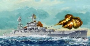 Hobby Boss 86501 USS Arizona BB-39 (1941) (1:350)
