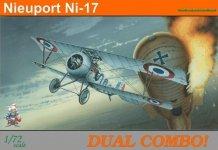Eduard 7071 Nieuport Ni-17 DUAL COMBO 1/72