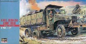 Hasegawa MT22 US GMC Dump Truck (1:72)