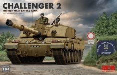 Rye Field Model 5062 Challenger 2 with workable track links 1/35