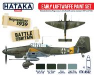 Hataka HTK-AS02 Early Luftwaffe paint set 4x17ml
