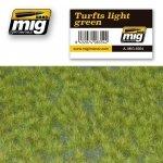 AMMO of Mig Jimenez 8354 TURFS LIGHT GREEN (230x130mm)