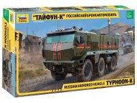 Zvezda 3701 Russian armored vehicle Typhoon-K 1/35