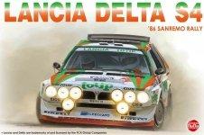 NuNu 24005 Lancia Delta S4 '86 Sanremo Rally 1/24
